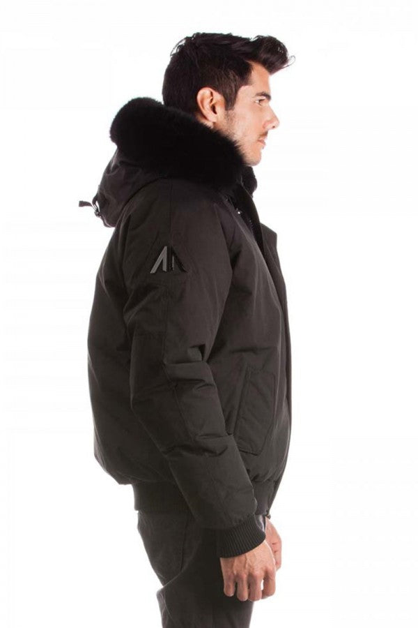 ARCTIC NORTH MENS SAINT SAUVEUR PREMIUM BOMBER WINTER JACKET