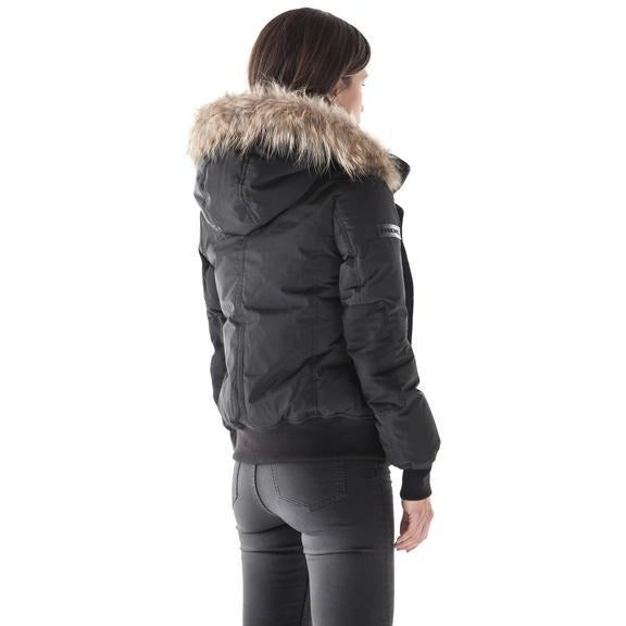 Women's Burntlime Boron Down Bomber - Black