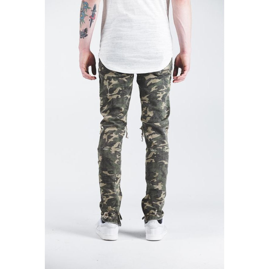 Pacific Denim in Camo