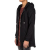 Men's Sixth June Oversized Zip Front Hoodie - Black