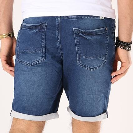 Jogg Denim Shorts Denim Dark Blue
