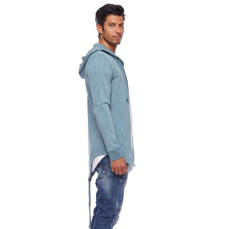 Terry Parka Blue