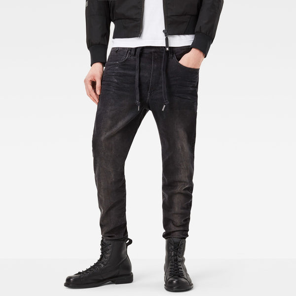 Type C 3D Sport Super Slim Black Rinn Trainer Dark Aged Jeans