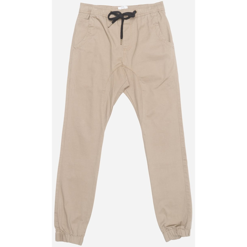 Men's Chino Joggers Dark Taupe