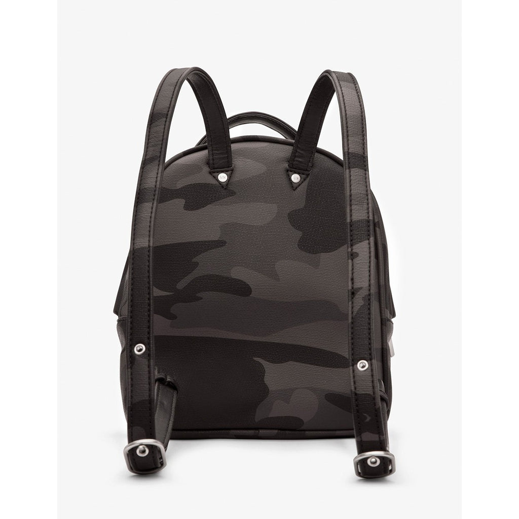 Munich Mini Vintage Backpack Camo Black