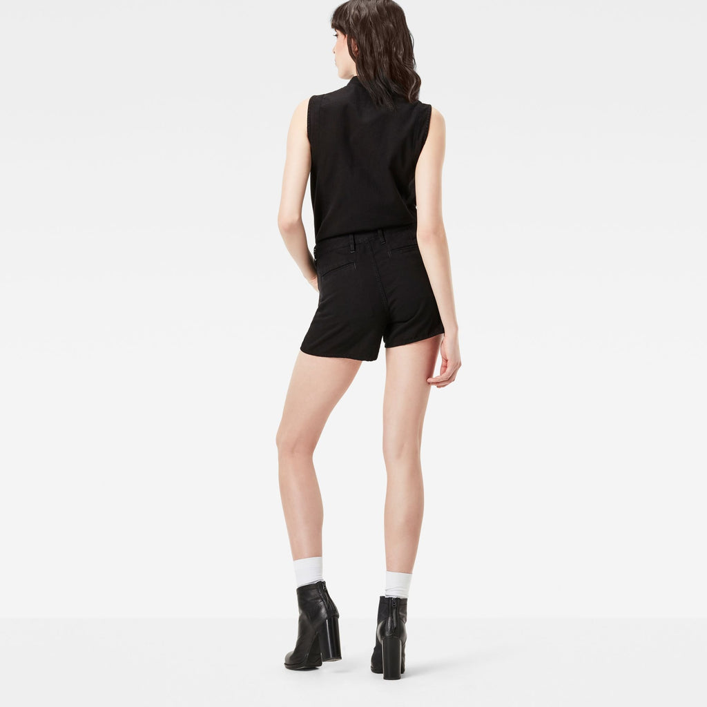Powel Short Suit Dark Black