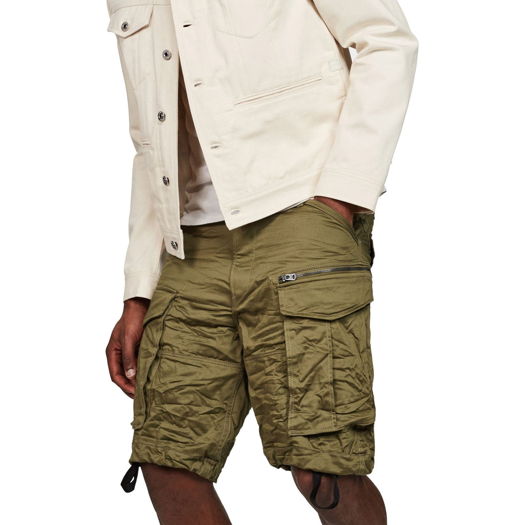 Rovic Zip Loose 1/2 Shorts Sage