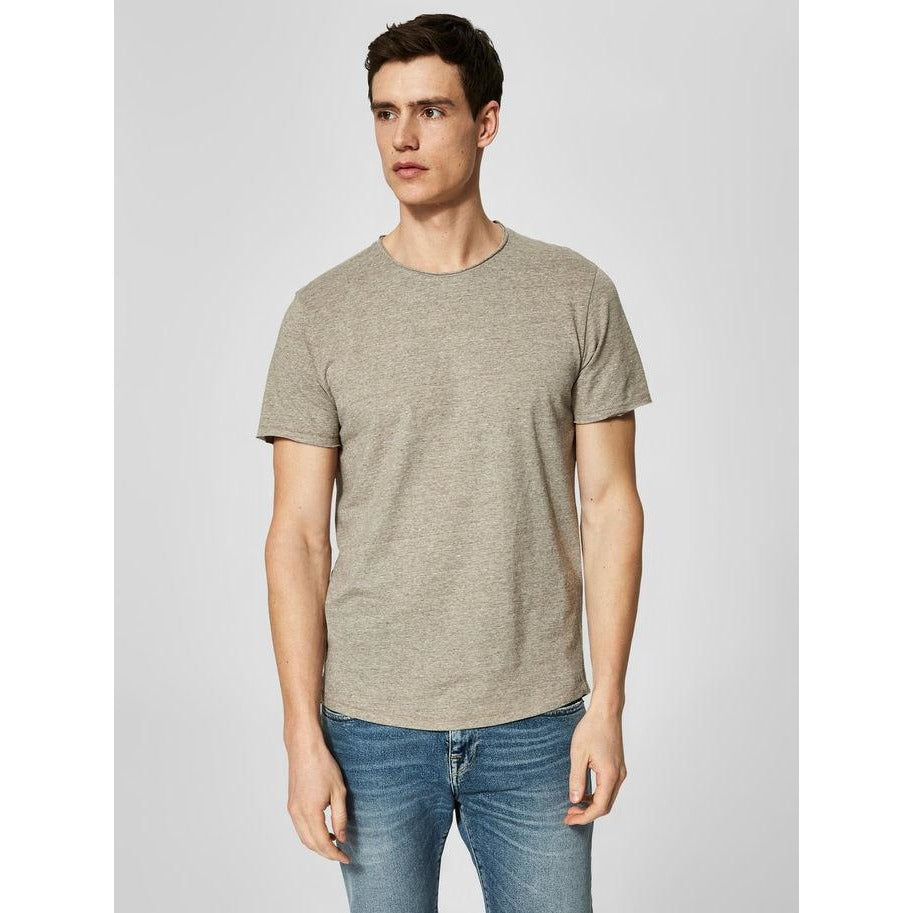 Shnrick Short Sleeve O-Neck Tee Dove