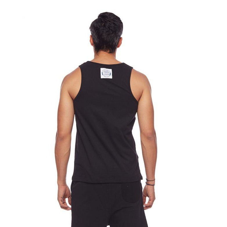 Lazy Boys Club Retro Tank Black