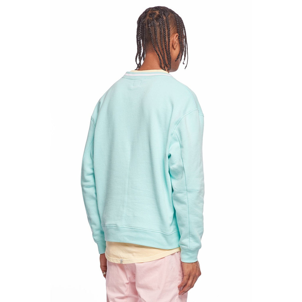Perfect Crew Fleece Hoodie Turquoise