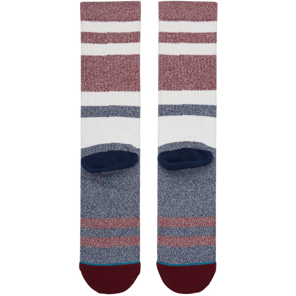 M556A18ROB.RED Robinsen Butter Blend Socks Red