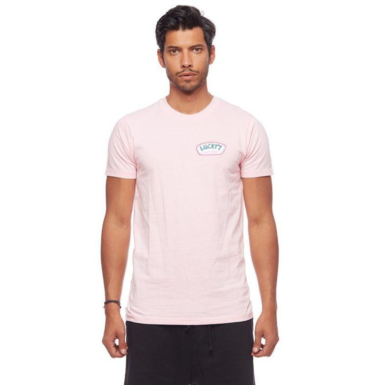 Surf Shop Retro Tee Shirt Pink