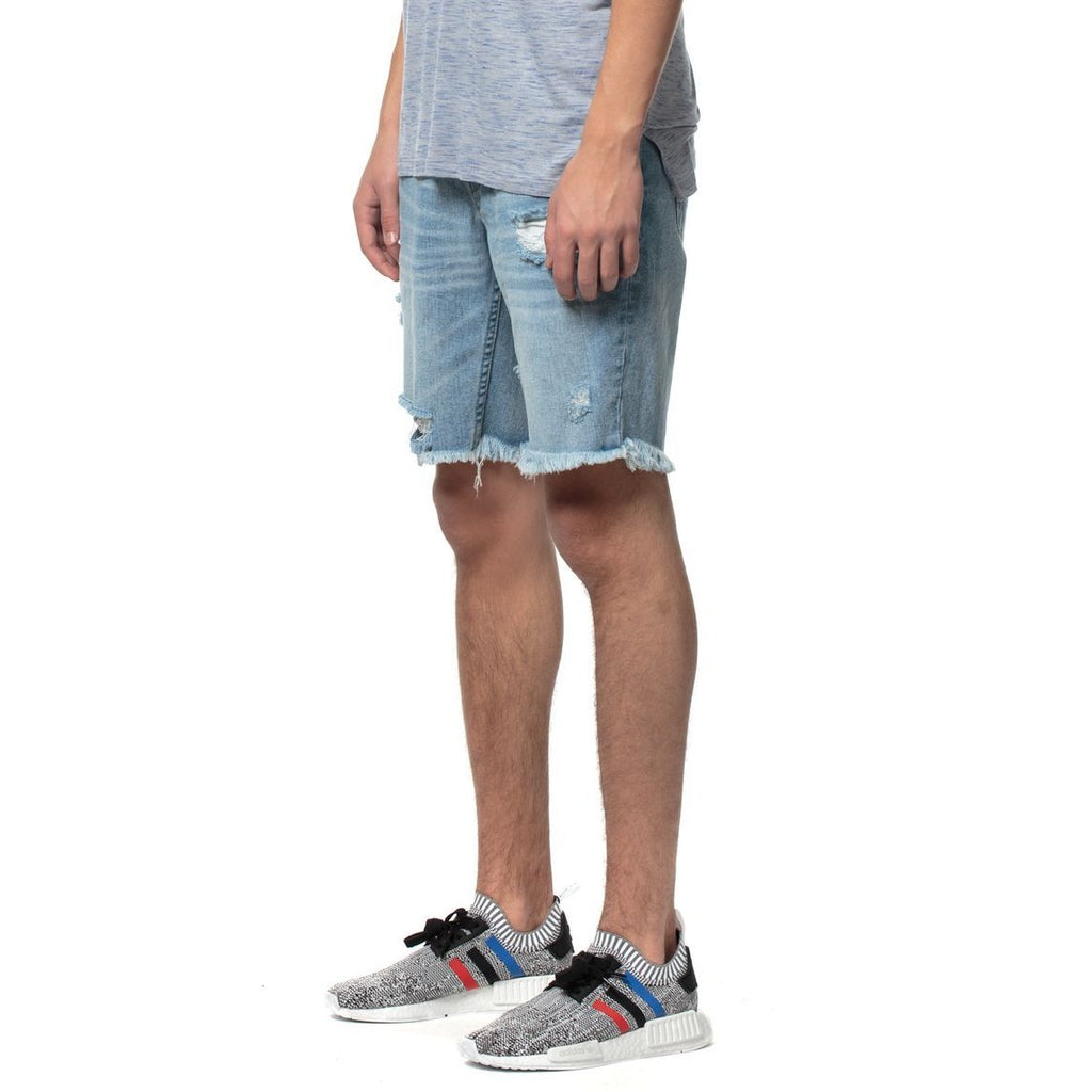 KUL-DS1209 Blue Denim Kamikaze Shorts