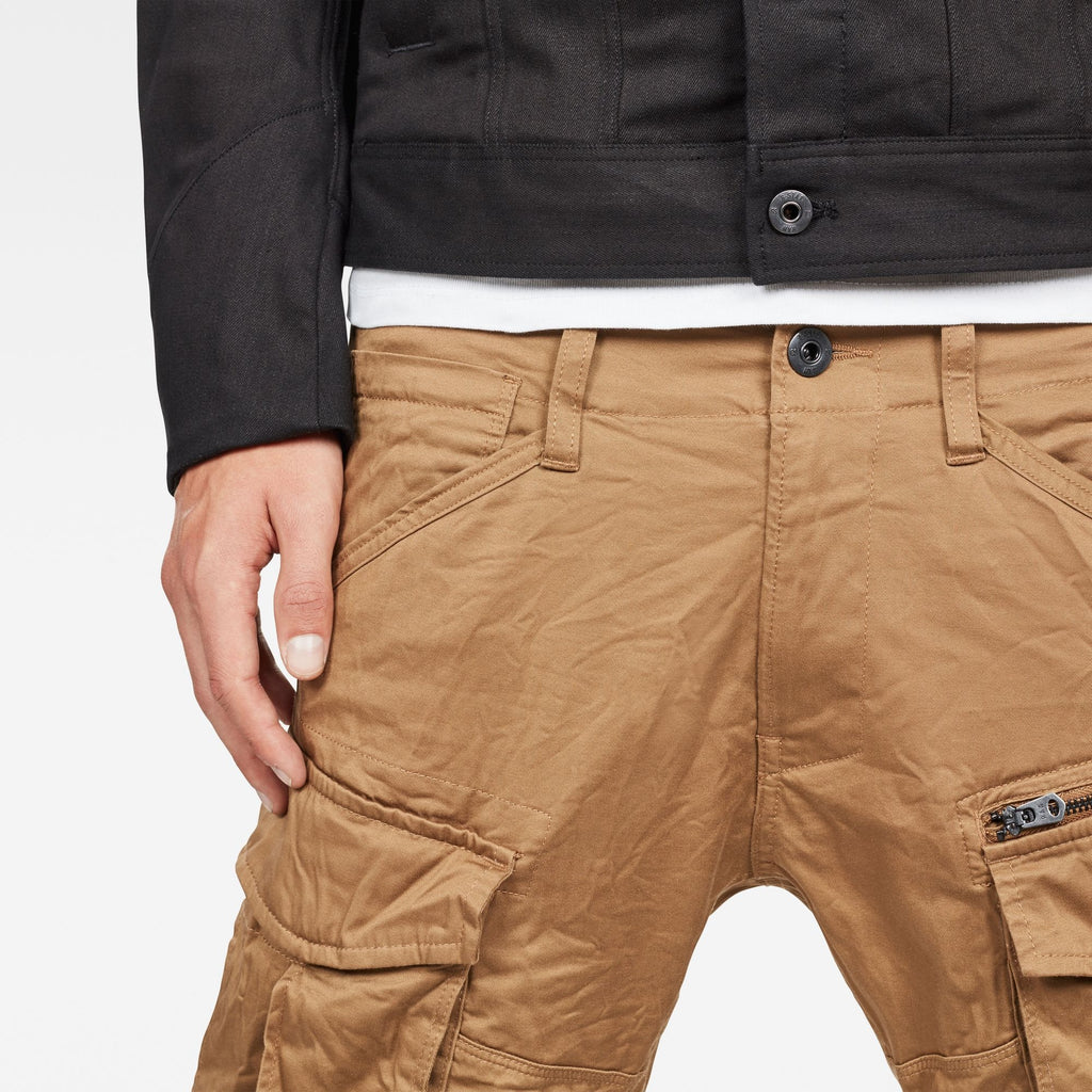 Rovic Zip 3D Tapered Pants Antelope