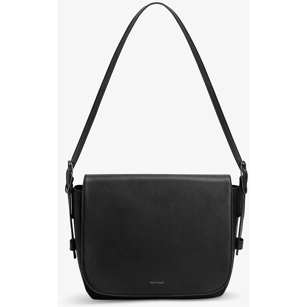 Nebula Vintage Crossbody Bag Black