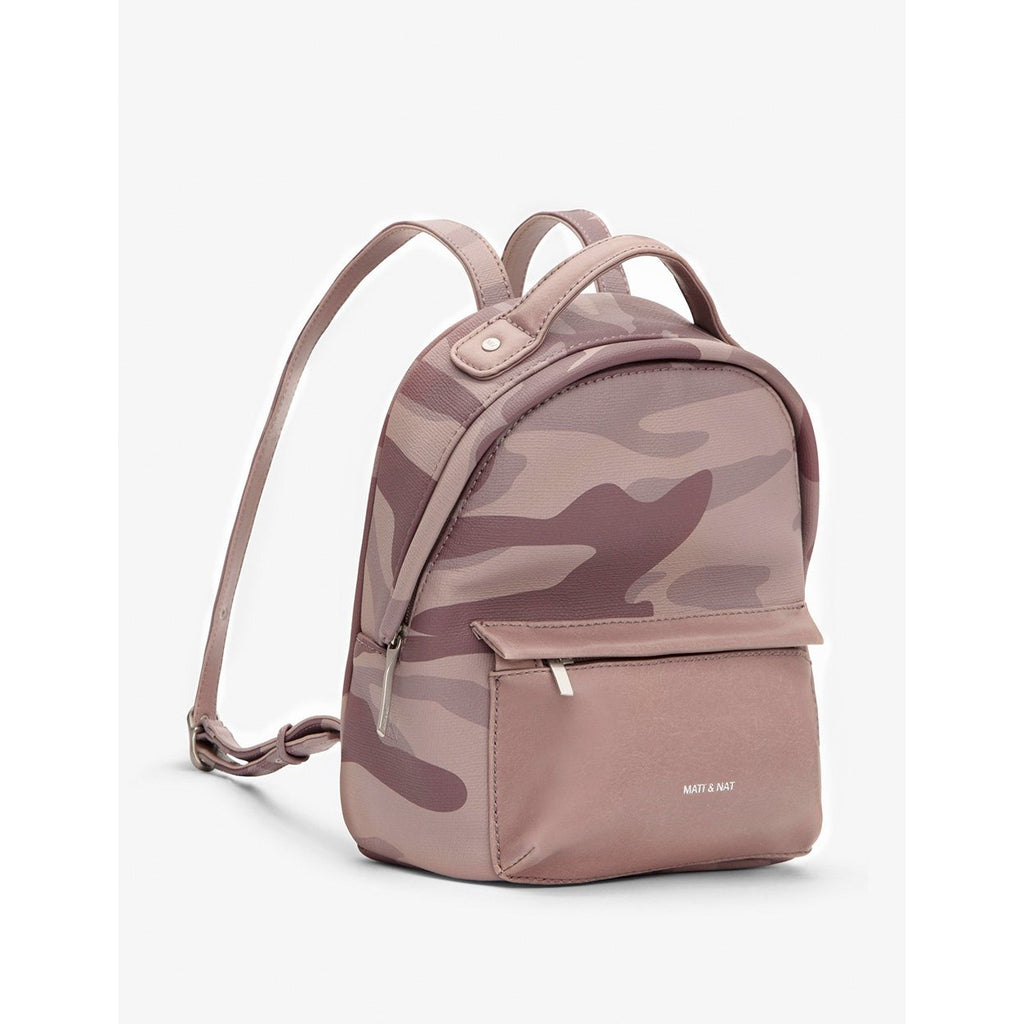 Munich Mini Vintage Backpack Camo Orchid
