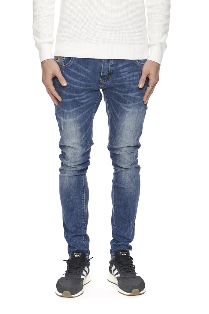 KUWALLA TEE MENS THE 5 POCKET ESSENTIAL INDIGO