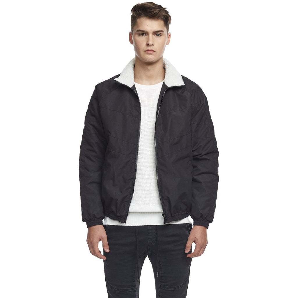 Men's Kuwalla Tee Winter Track Jacket - Black/Black