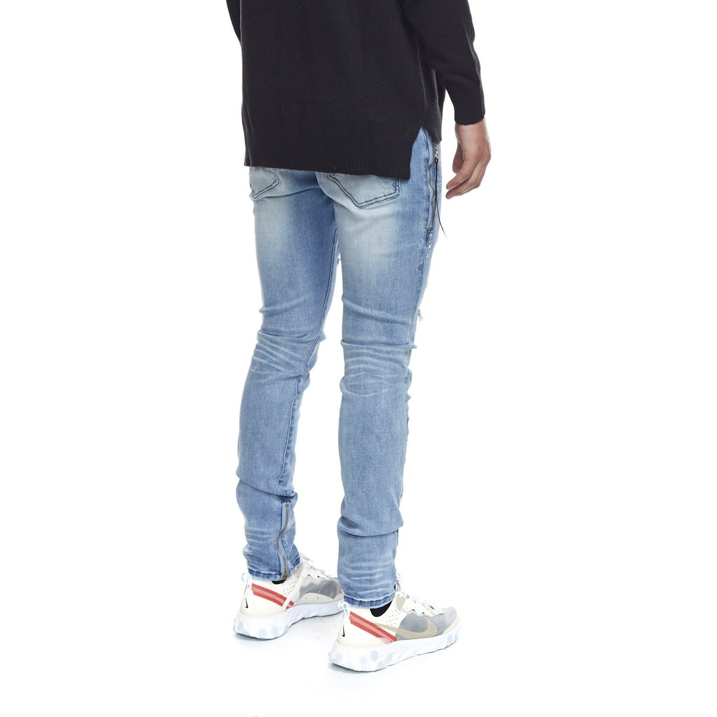 Men's Kuwalla Tee Axel Denim - Bleach