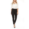 Margaret M Ladies Tracey Black Skinny Slimming Pant