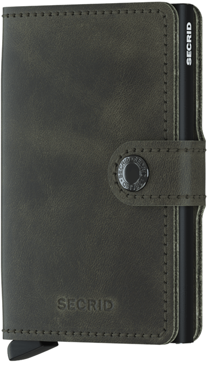 Men's Secrid Miniwallet - Olive-Black