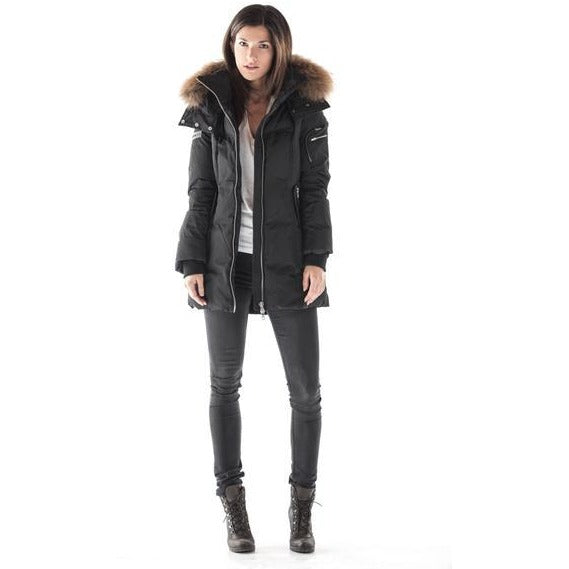 Women's Burntlime Mercury Down Parka - Black