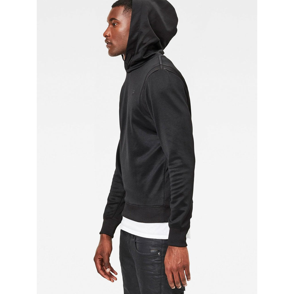 Motac Hooded Sweater Dark Black