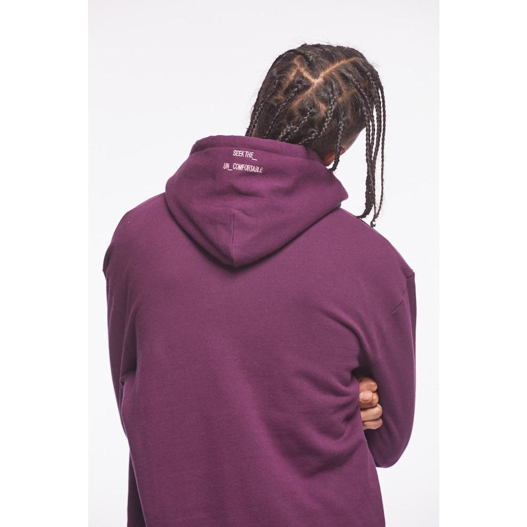 Perfect Fleece Hoodie Purple