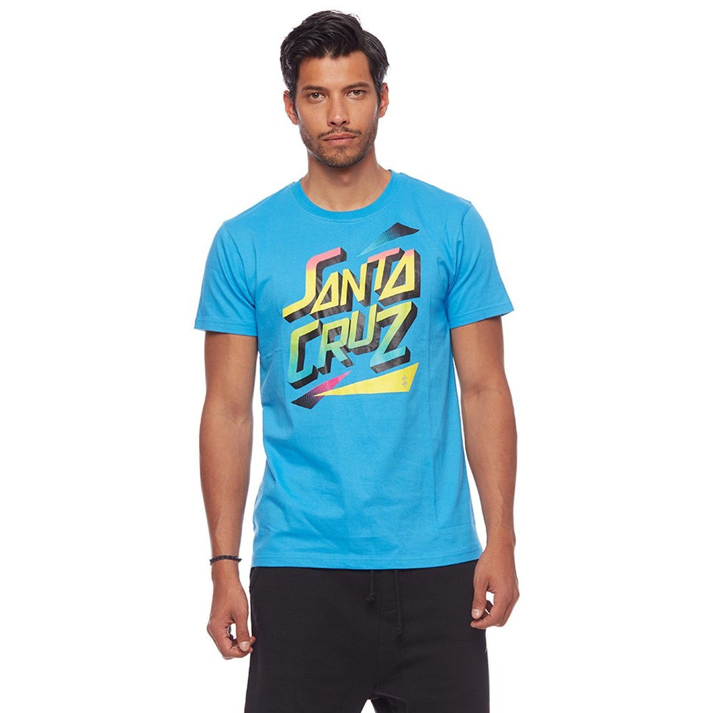 L7 Santa Cruz Retro Tee Blue