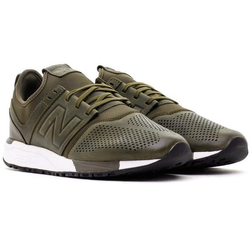MRL247NO Men's New Balanace 247 Sneakers Olive
