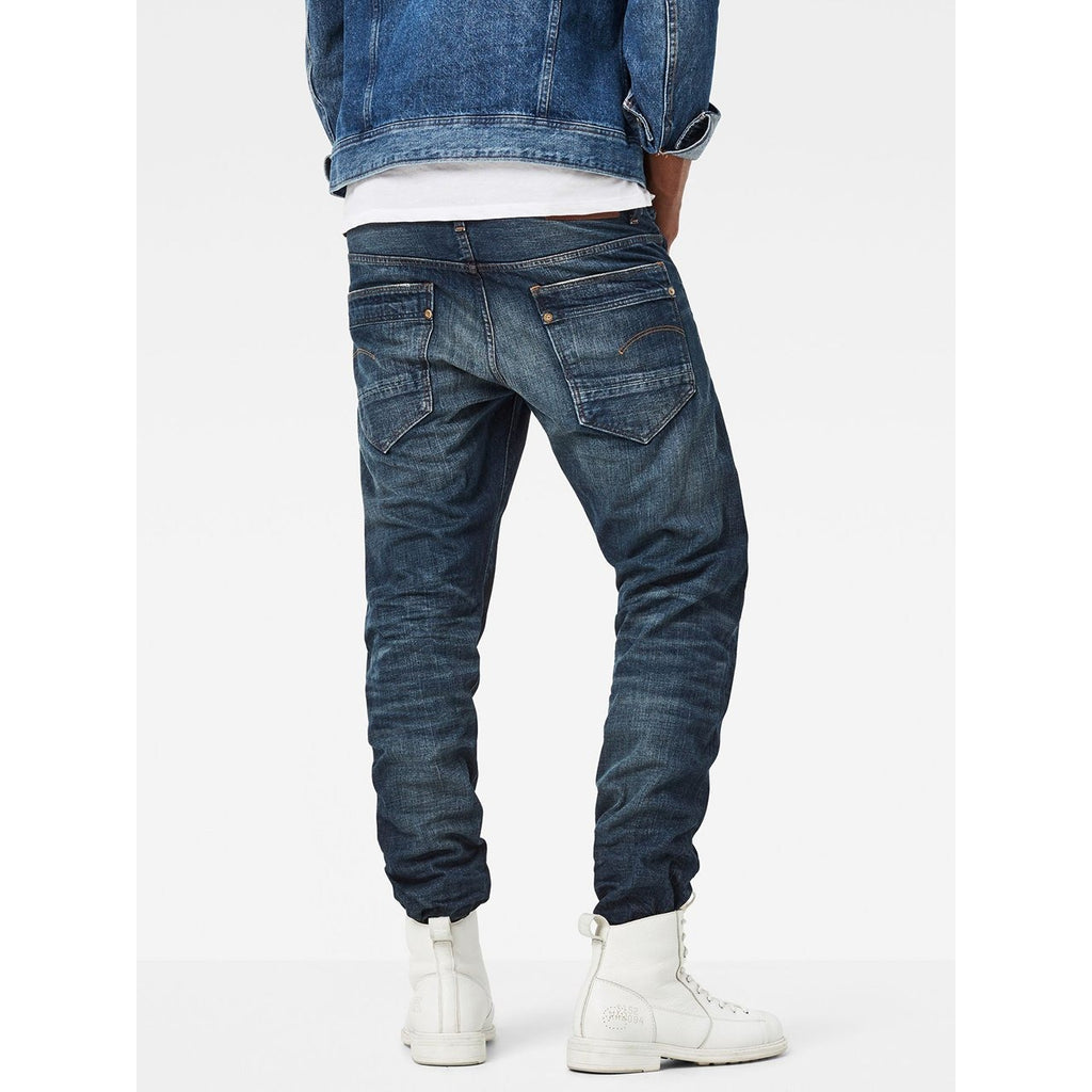 Hedrove Tapered Jeans Dark Aged