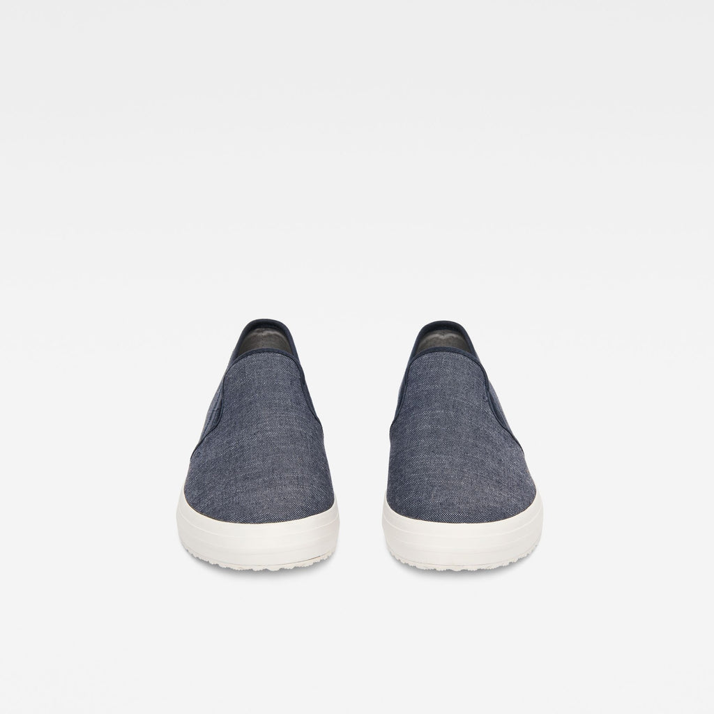 Kendo Slip-on Sneakers Chambray