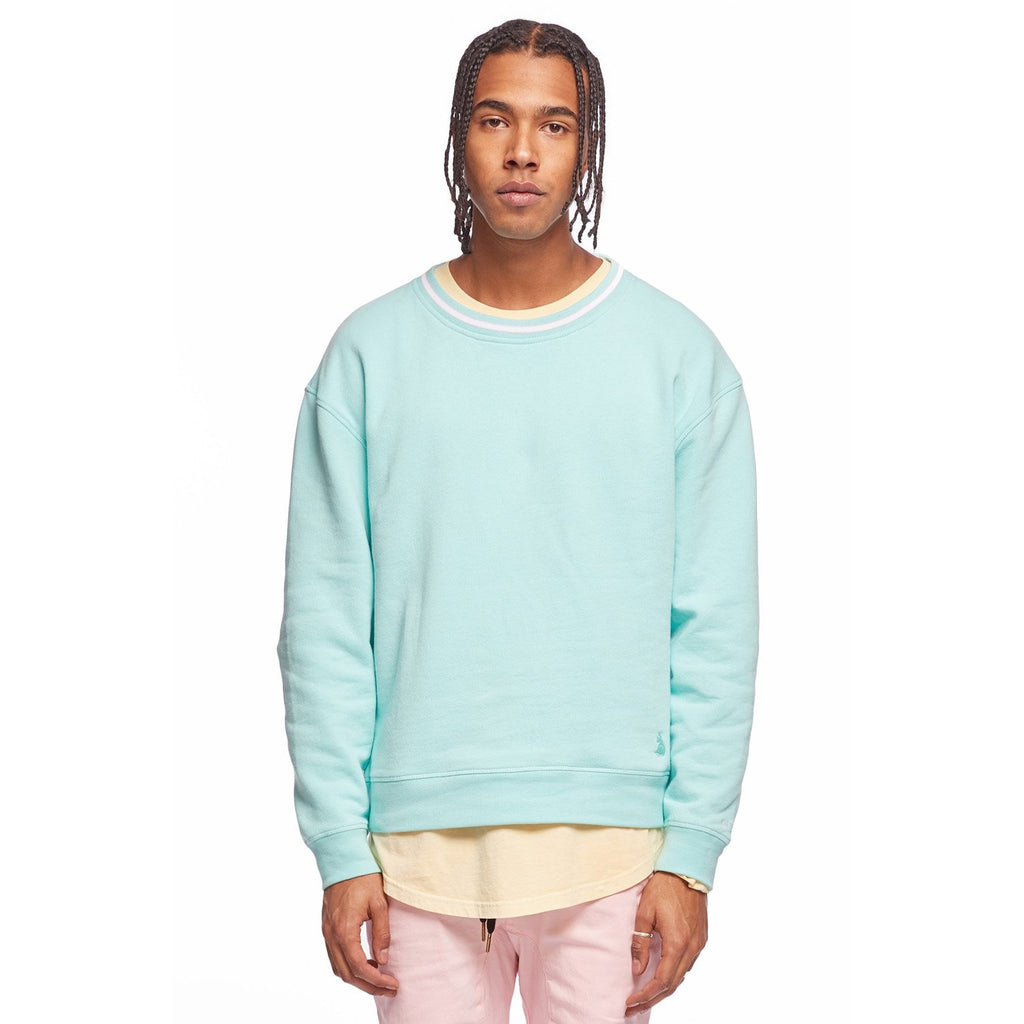PERFECT CREWTURQUOISE