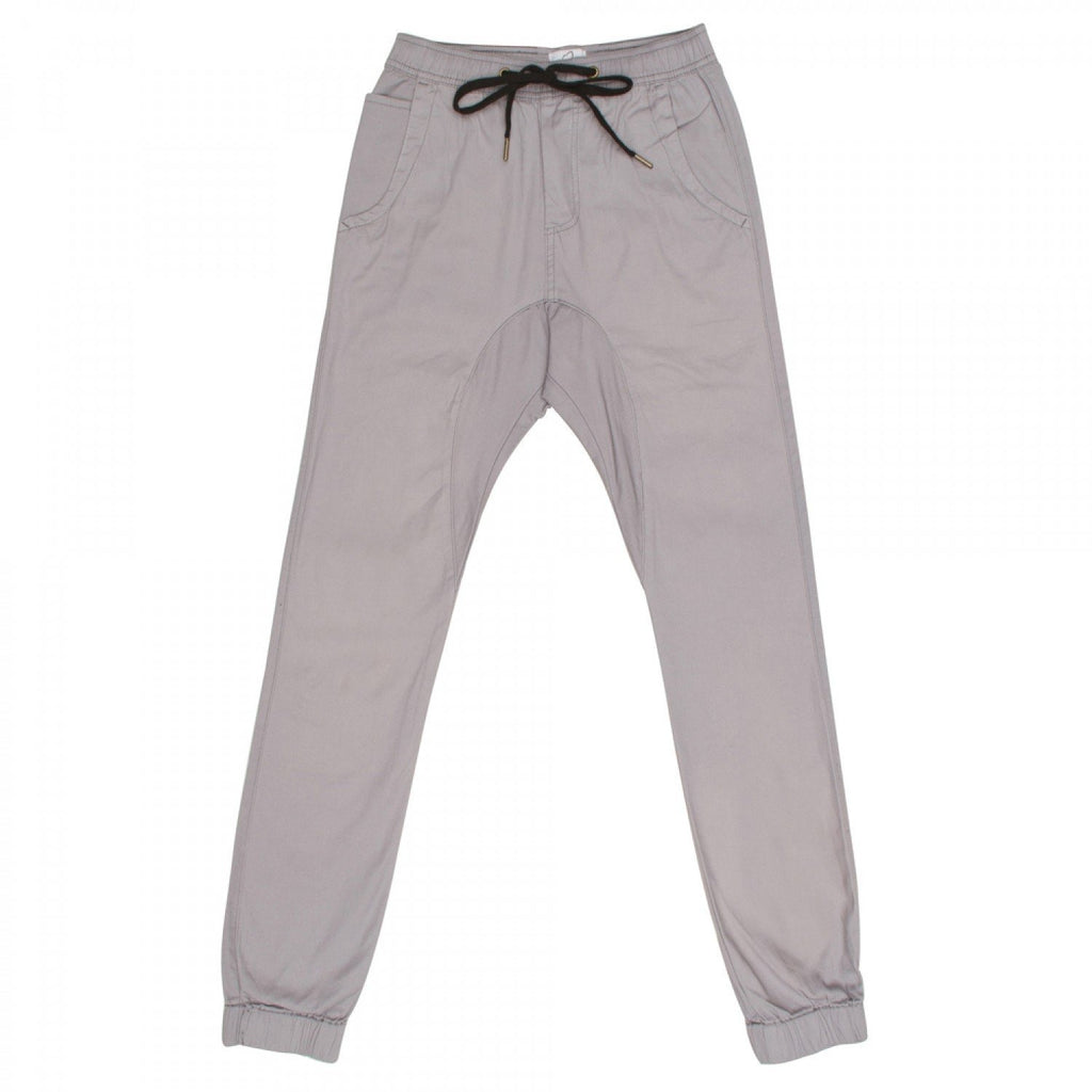 Men's Chino Joggers Light Grey
