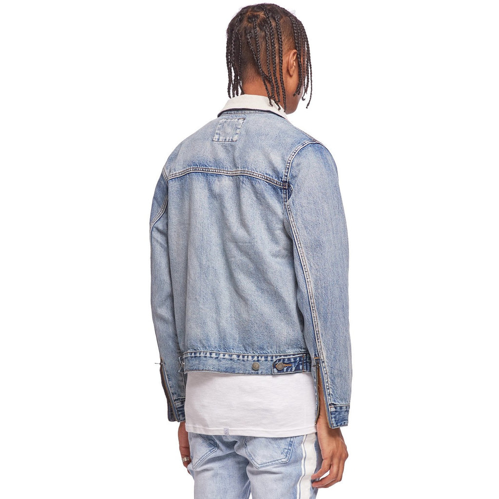 Heritage Blue Zip Denim Jacket