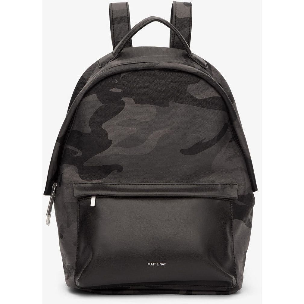 Munich Vintage Backpack Camo Black