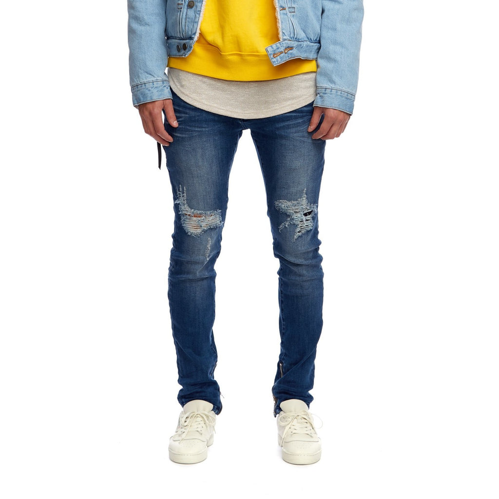 Men's Kuwalla Tee Axel Denim - Blue