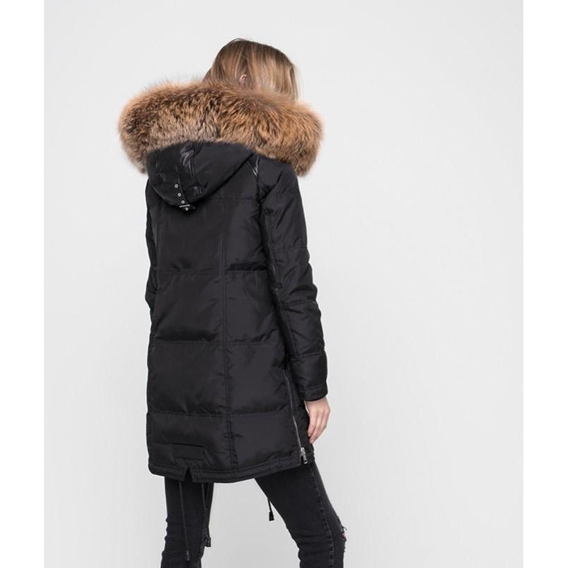 Women's Nicole Benisti Chelsea Coat - Black/Gold