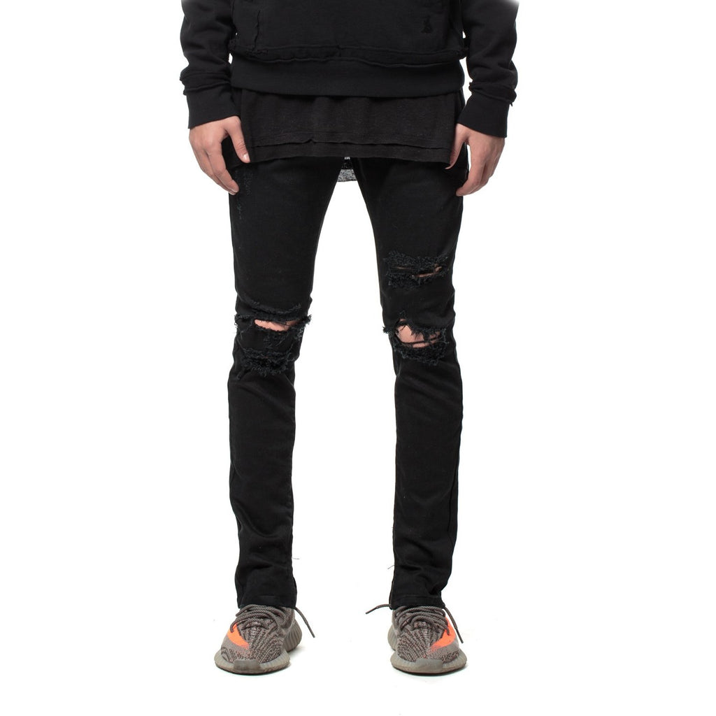 Men's Kuwalla Tee Slasher Denim - Black