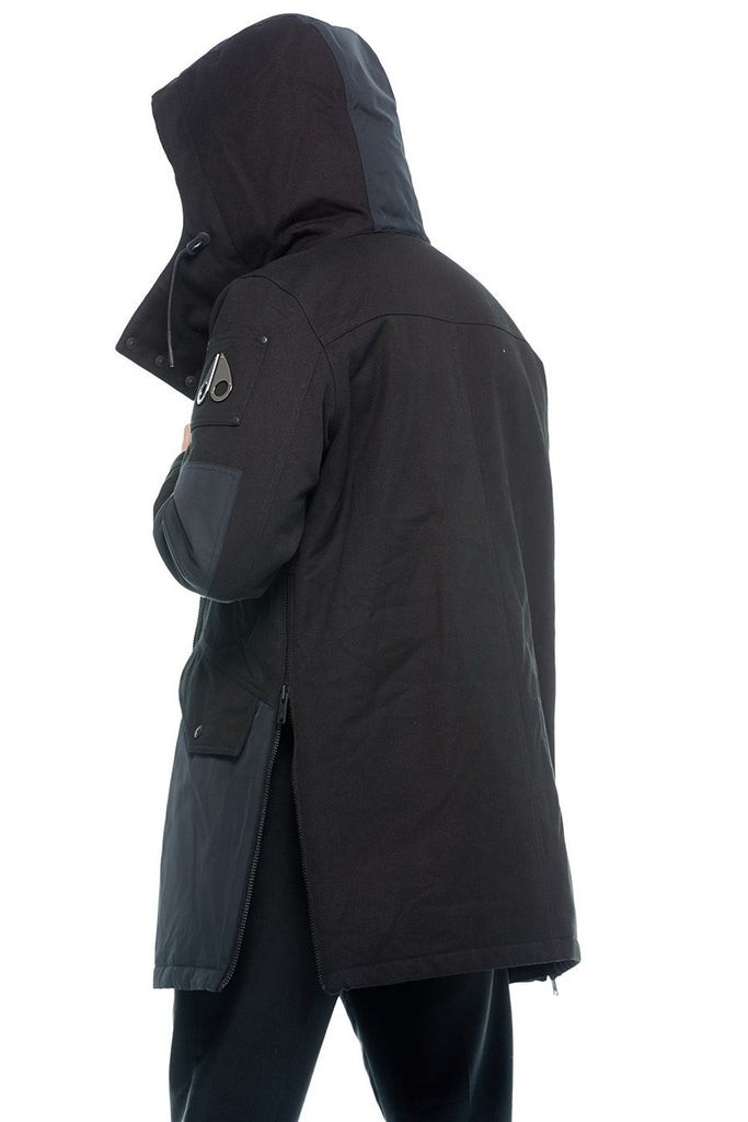 MOOSE KNUCKLES MONT CALM PARKA - BLACK