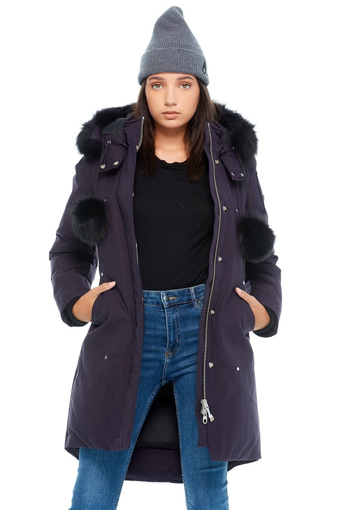 MOOSE KNUCKLES STIRLING PARKA ABYSS/BLACK FOX FUR