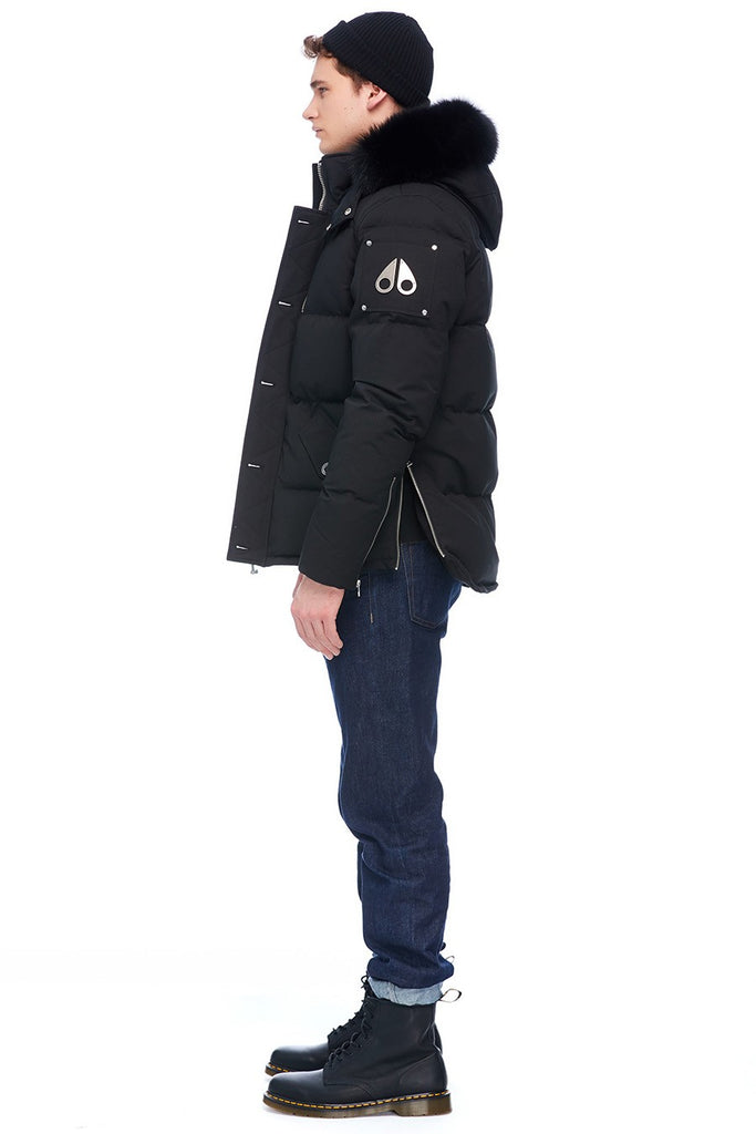 MOOSE KNUCKLES 3Q JACKET BLACK/BLACK FOX FUR