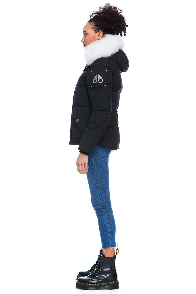 MOOSE KNUCKLES 3Q JACKET BLACK/NATURAL FOX FUR