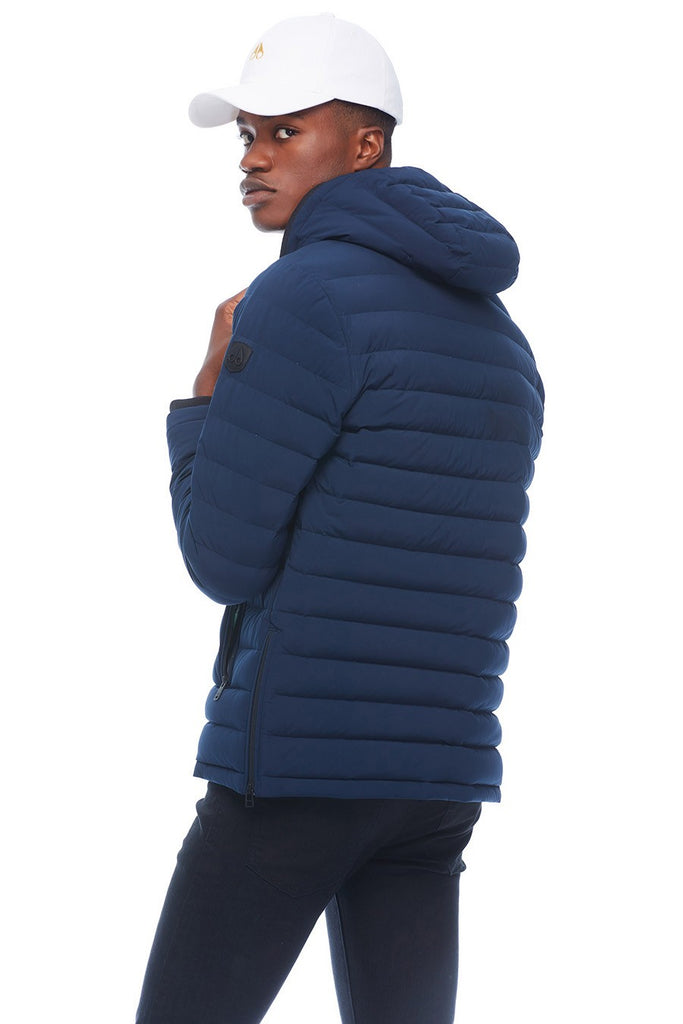 MOOSE KNUCKLES FULLCREST JACKET NAVY