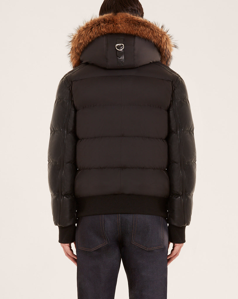 MENS RUDSAK BALE/NATURAL FUR