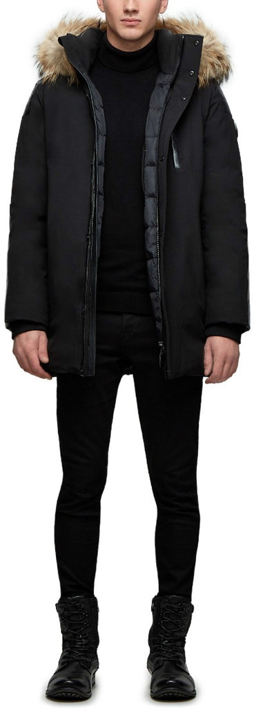 Men's Rudsak Stefano Coat - Black