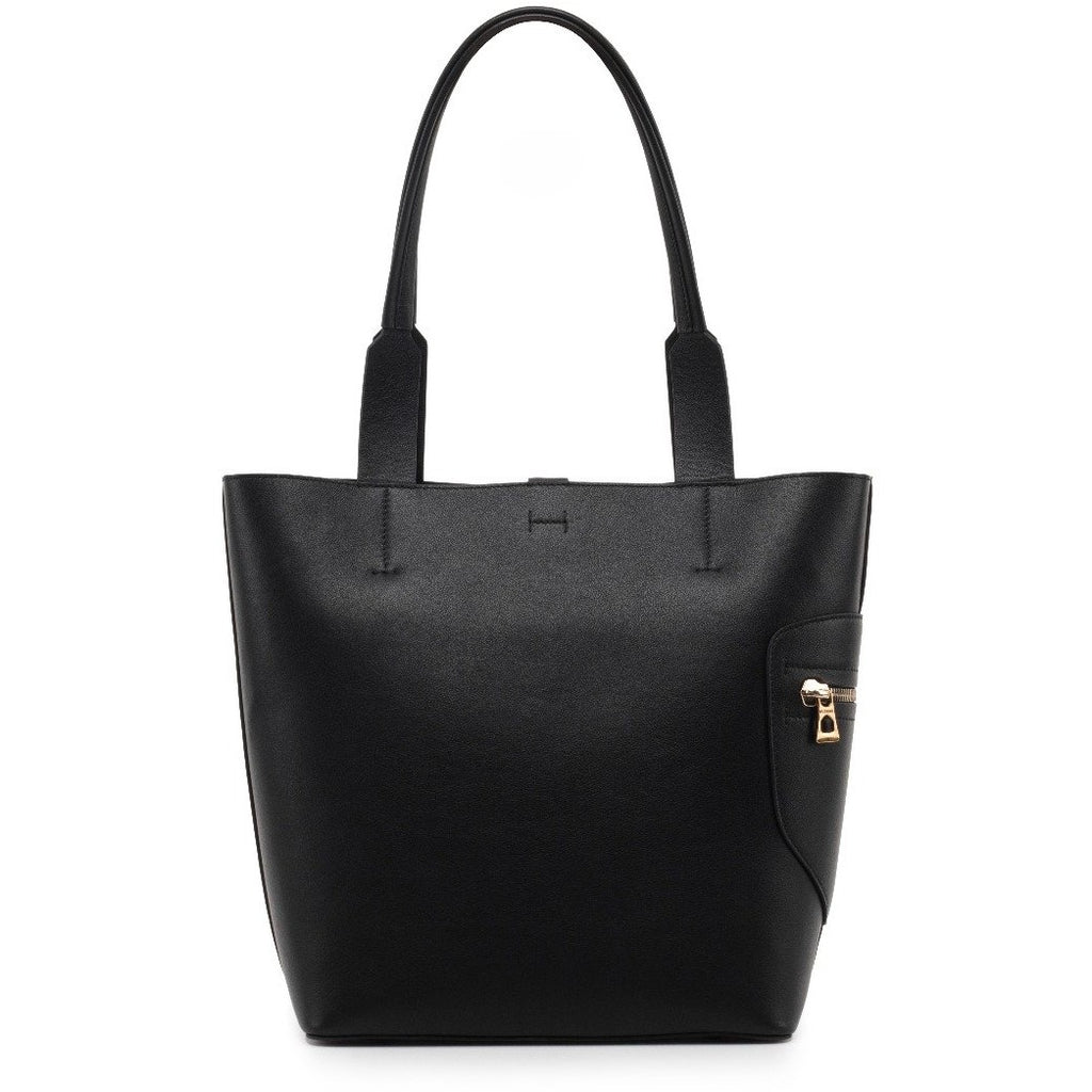 Women's Rudsak Prima Leather Tote Bag - Black