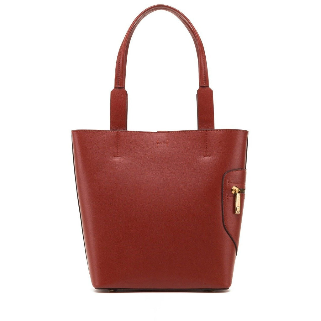 Women's Rudsak Prima Patent Leather Tote Bag - Rust