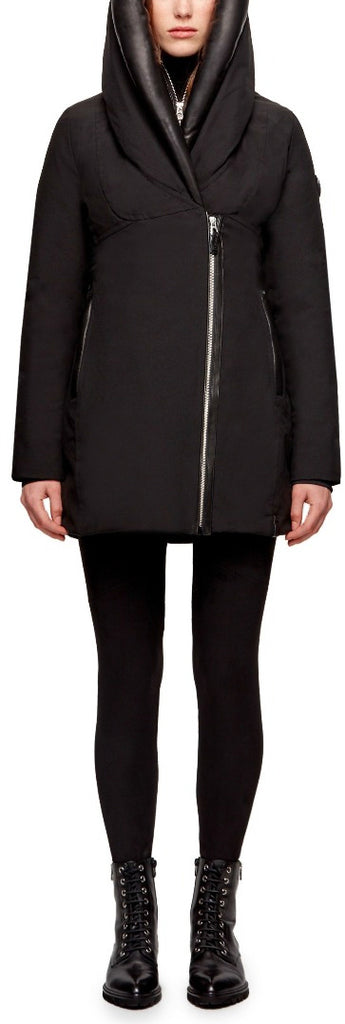 Women's Rudsak Manila Down Jacket - Black