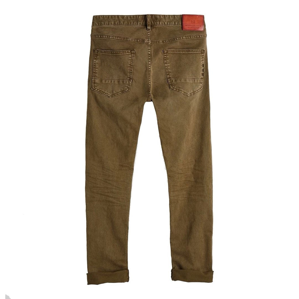 Ralston - Garment Dyed Regular slim fit Military green